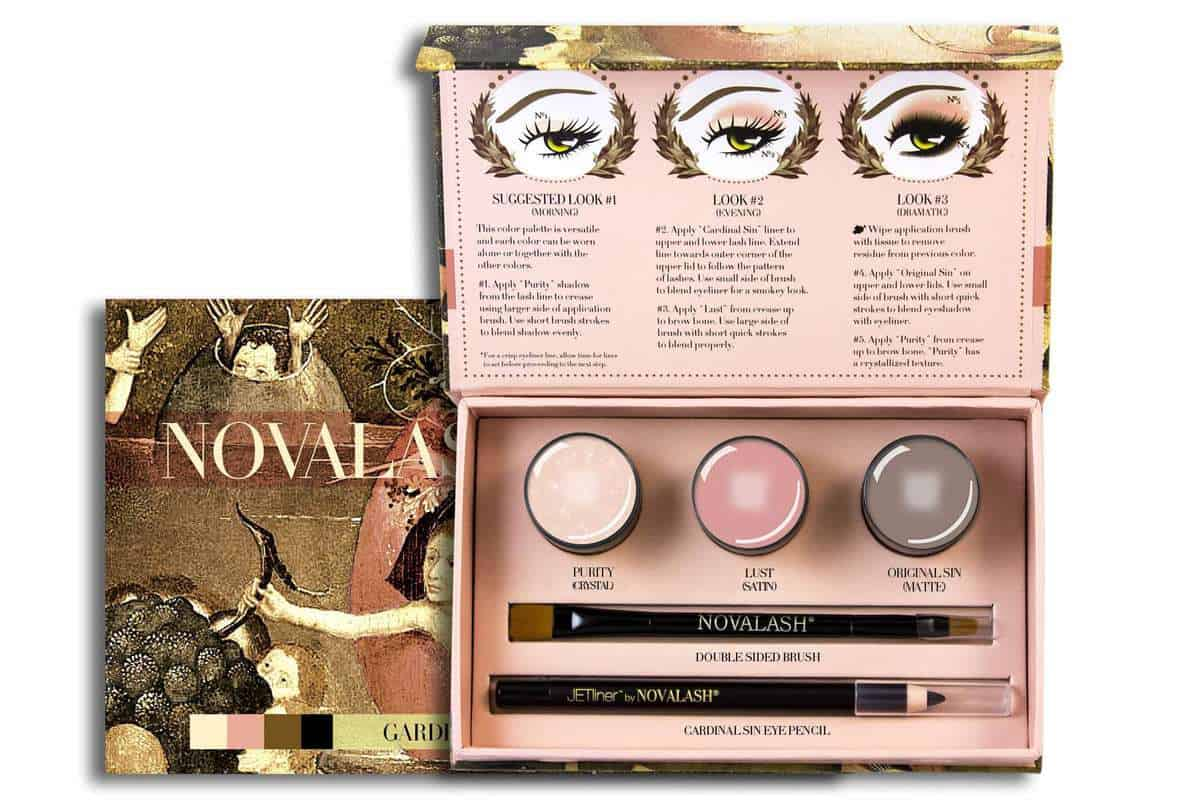 WIN a NovaLash 24 hour Cream Shadow kit AND a Pro MUA customised