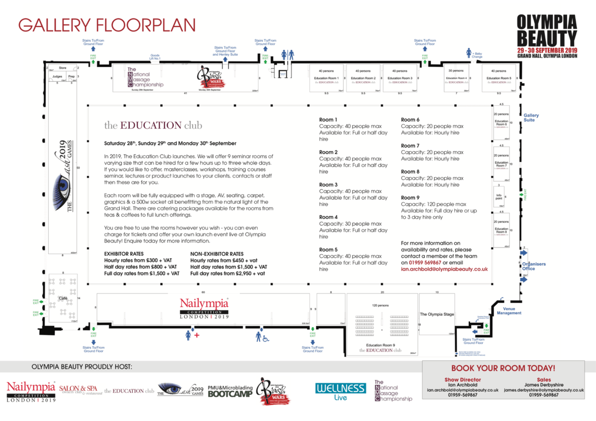 OB 2019 Education Club Floorplan